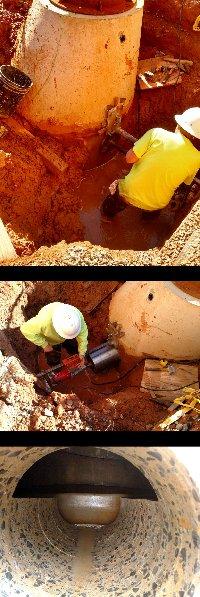 12 inch core bore Hickory North Carolina Picture 1