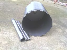 "12"" diamond core drill bit $600.00"