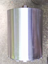 "Silver Series.12 "" concrete core drill bit"
