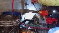 7 inch core drill in crawl space Picture 1
