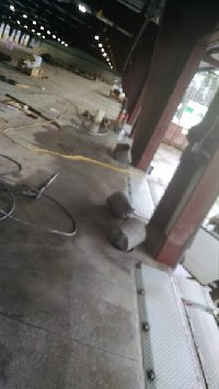 core drilling 12 inch holes for bollards Picture 1