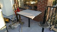 core drilling for restaurant tables and chairs Picture 1