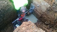 10 inch core drilling for 8 inch pipe Picture 1