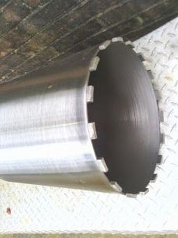 "6"" diamond core drill bit $220.00"